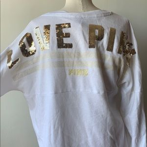VS PINK - bling sweatshirt